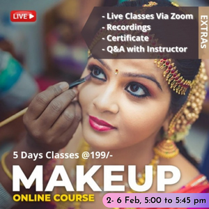 Live Makeup Artistry [5 Days Basic Course]