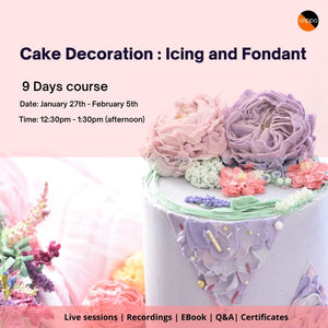 Icing Technique and Fondant [Hindi]