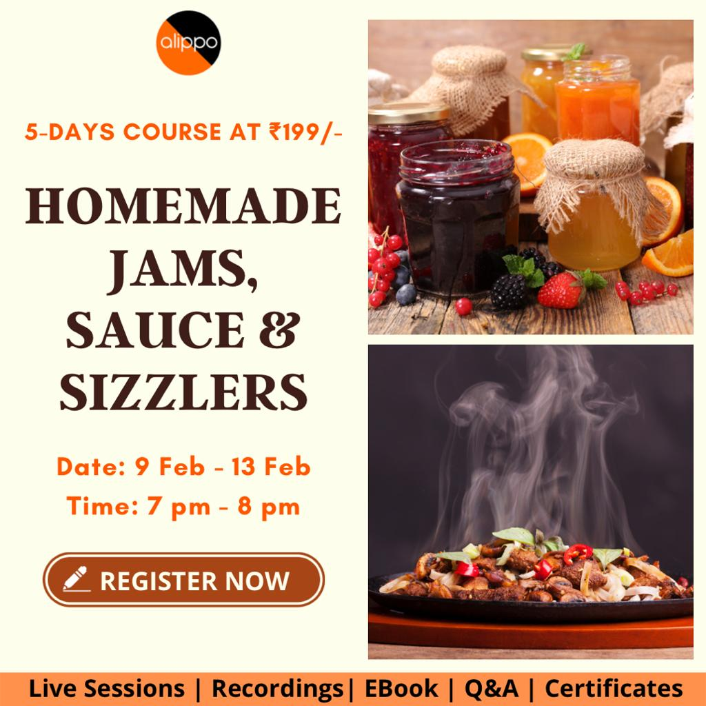 Homemade Jams, Sauce & Sizzlers