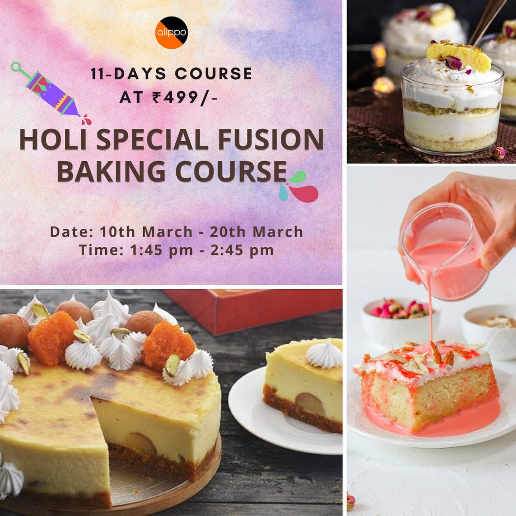 Holi Special Fusion Baking Course