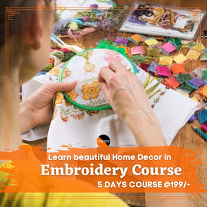 Embroidery Course