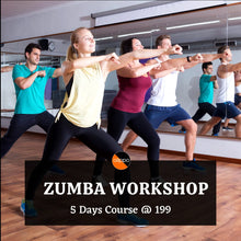 Load image into Gallery viewer, Zumba Workshop (Beginner to Intermediate level)