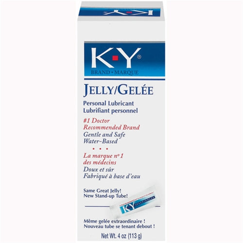 K-Y Jelly 4 Oz Tube - Large PM8912