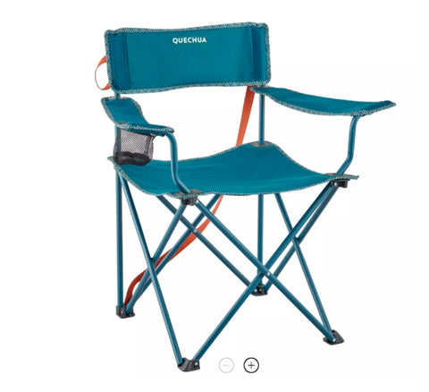 CAMPING CHAIR FOLDING BASIC QUECHUA