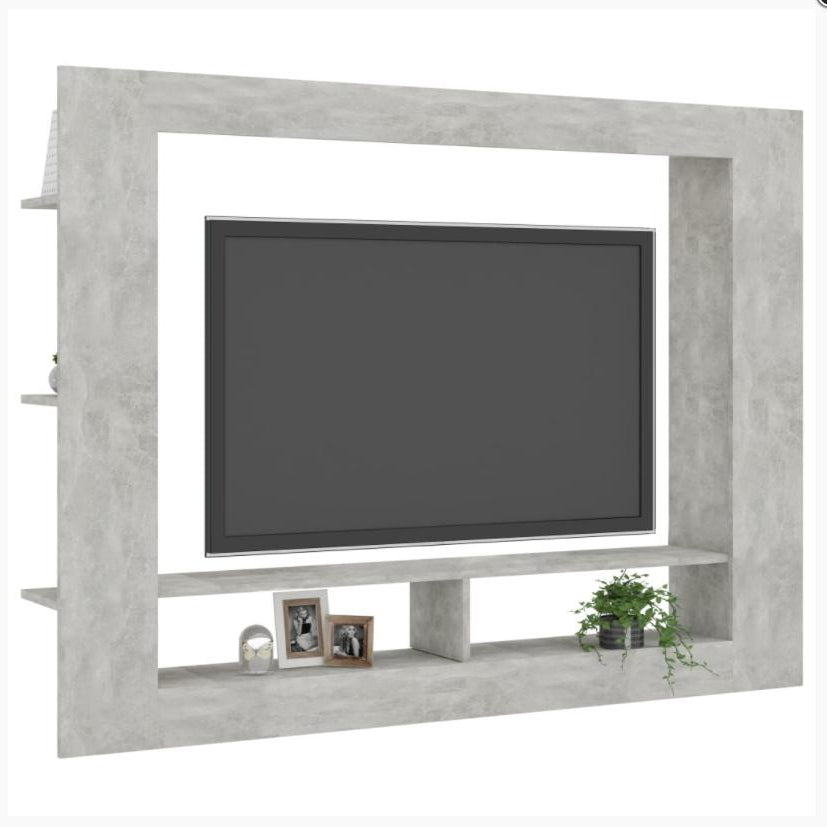 TV Cabinet With Shelves
