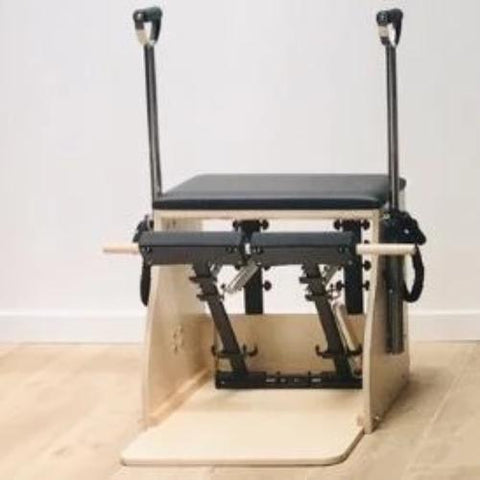 ELINA PILATES® Elite Wood Stability Chair with Handles