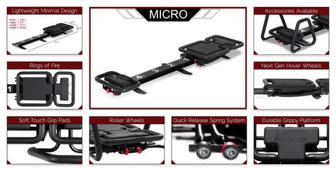 "Lagree Fitness® ""Micro"" Reformer Bundle"