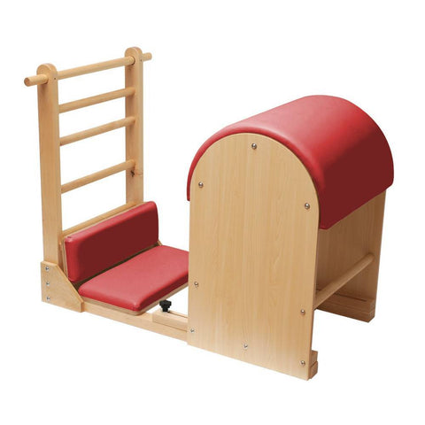 Elina Pilates Elite Ladder Barrel with Wooden Base