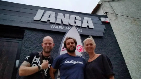 Janga Wetsuits UK Stockist