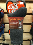 its a dogs life walking socks grey
