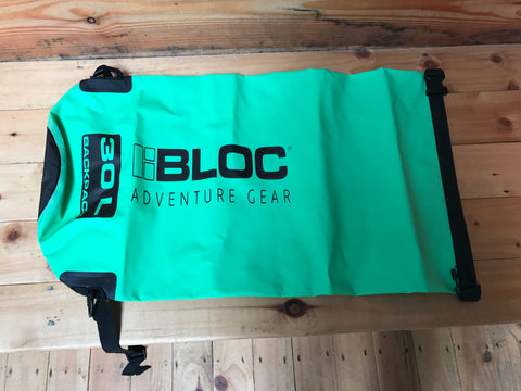 Bloc Dry Sack 500D 20L Bright Green