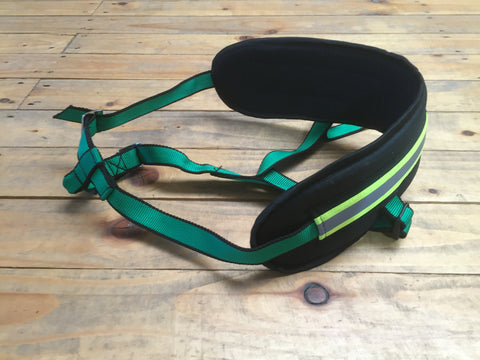 Canicross  Adult's Running Belt Green