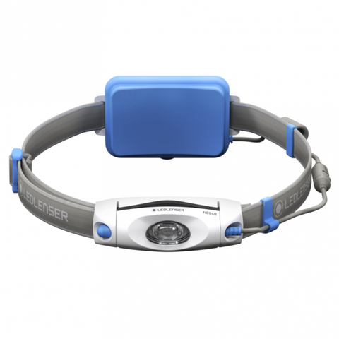 Ledlenser NEO6R Chest and Headlamp Blue