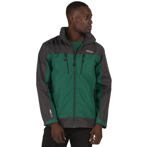 Regatta Men's Calderdale Waterproof Jacket Hunter Green