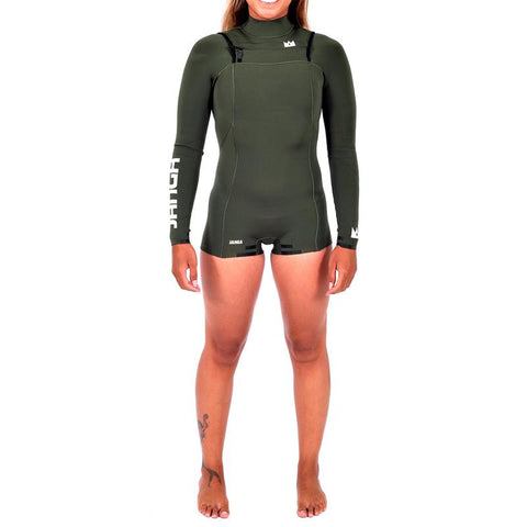 Janga Queen Rock Ivy 2mm/2mm hot pant wetsuit