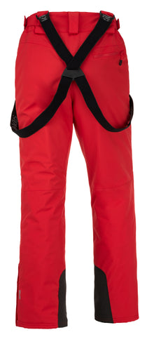 Kilpi Mens Mimas Insulated Waterproof Ski Trouser Red