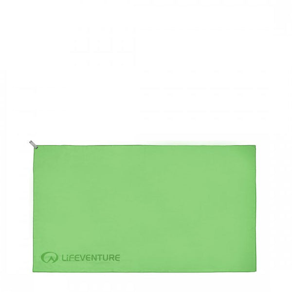 Lifeventure Soft Fibre Trek Towel XL Green