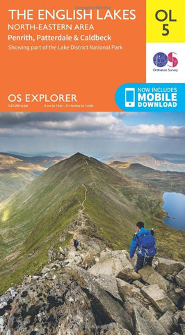 Ordnance Survey OL5 Lake District-North Eastern Area