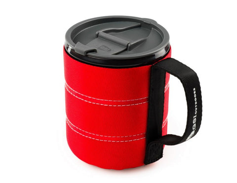 GSI: Outdoors Inifinity Back Packer Mug Red
