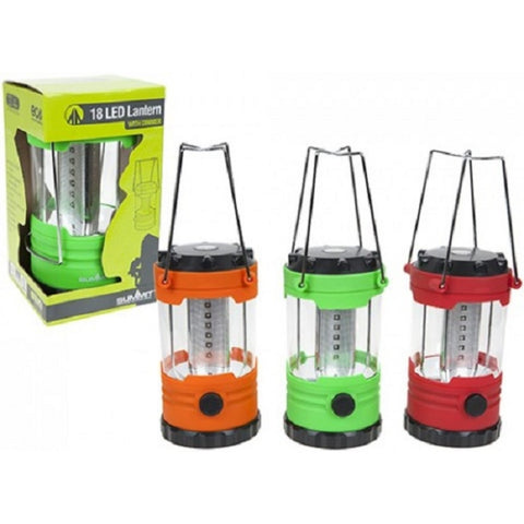 Summit 18 LED Camping Lantern Red