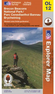 Guide: Ordnance Survey Brecon Beacons (Western Area) OL12