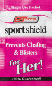 2 Toms Woman's Sportshield (Prevents Chafing Blisters)