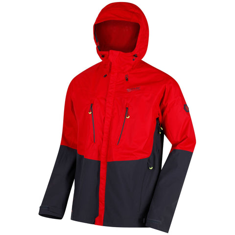 Regatta Men's Cross Penine Waterproof Jacket Pepper Red