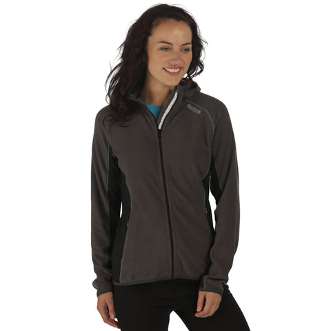 Regatta Woman's Seymore III Hoodie Seal Grey Black