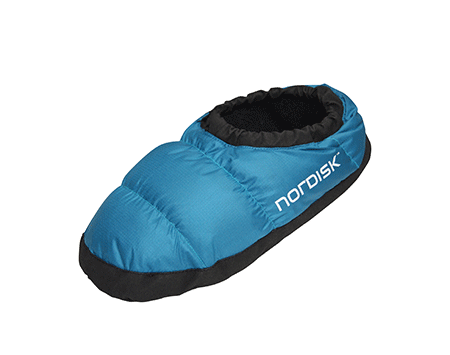 Nordisk Mos Down Slippers Limoges Blue