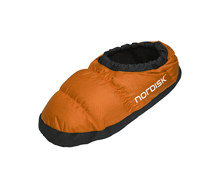 Nordisk Mos Down Slippers Orange