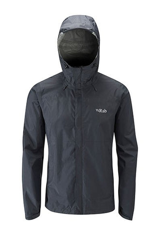 Rab Men's Downpour Jacket Black