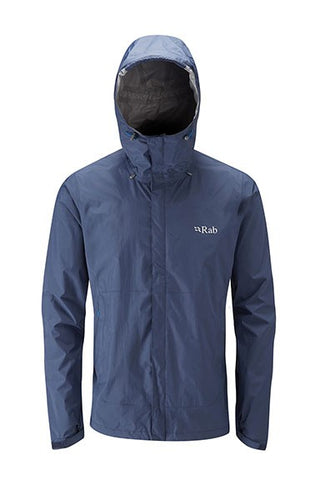 Rab Men's Downpour Jacket Field Green