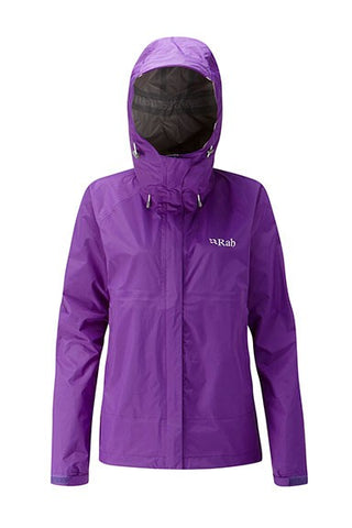Rab Woman's Downpour Jacket Nightshade