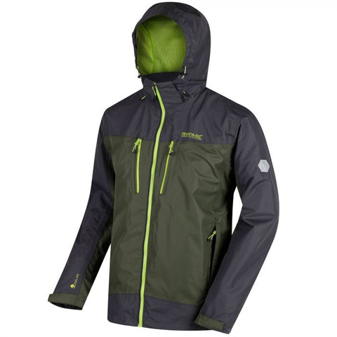 Regatta Men's Calderdale Waterproof Jacket Race Green