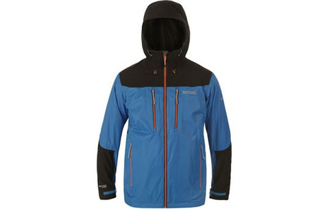 Regatta Men's Cross Penine Waterproof Jacket Blue