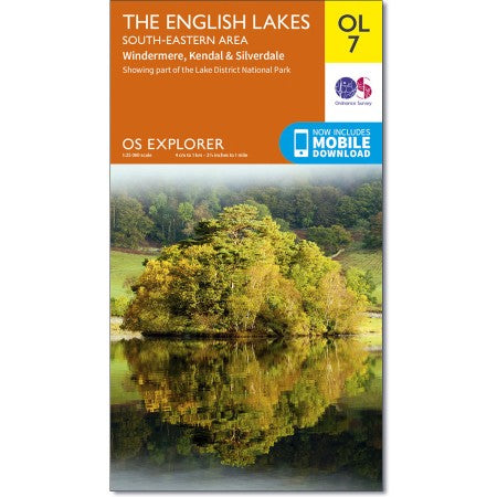 Ordanance Survey OL7 Lake District-South Eastern Area