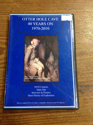 DVD: Caving Film- Otter Hole Caves-40 Years On