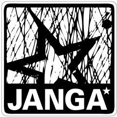 Janga Men's 'Submerge Side' Logo T Shirt