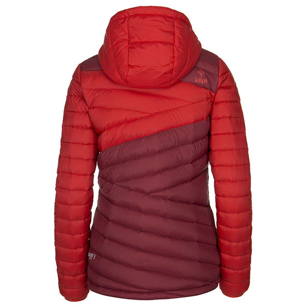 Kilpi Svalbard Womens Down Jacket Red