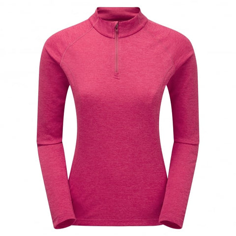 Montane Woman's Dart Zip Neck French Berry