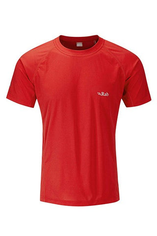 Rab Men's Interval Tee Ricochet