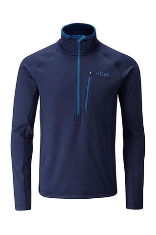 Rab Men's Nucleus Pull-On Fleece Deep Ink
