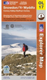 OS Map: Snowdon Explorer Map Active Map