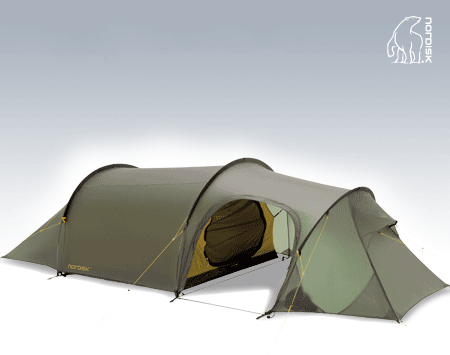 Nordisk Oppland 3 PU Tent Green
