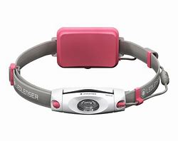 Ledlenser NEO6R Chest and Headlamp Pink