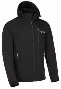 Kilpi Men's Elio Softshell Jacket Black / Black