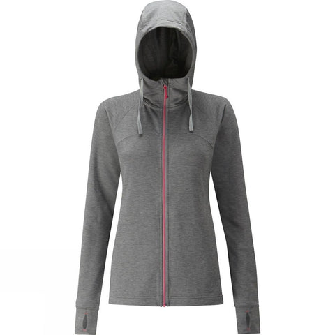 Rab Womens Top Out Hoody Anthracite