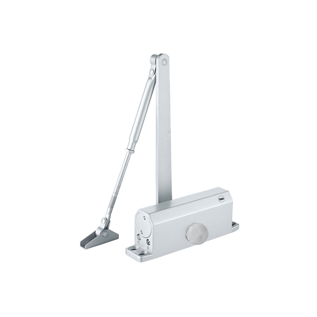 DCR-504 Door Closer, EN Size 4, Silver