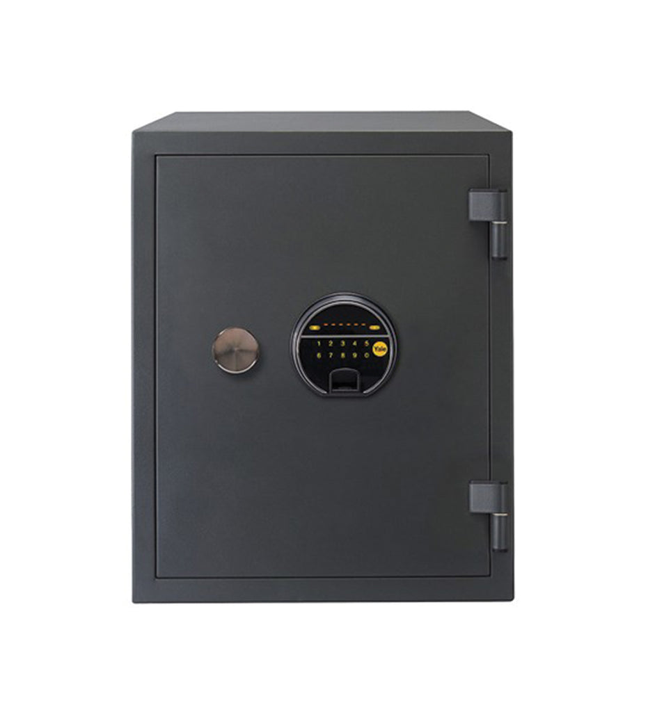 YFF/420/FG2 Biometric Safe, 60 Min Fire Resistance, Black, 25 Litre