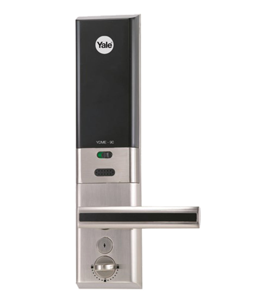 YDME 90- LH Digital Door Lock, Left Handed, Satin Nickel